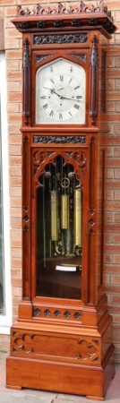 MAPLE & Co J.J ELLIOTT MUSICAL TUBULAR REGULATOR MURCURY LONGCASE CLOCK