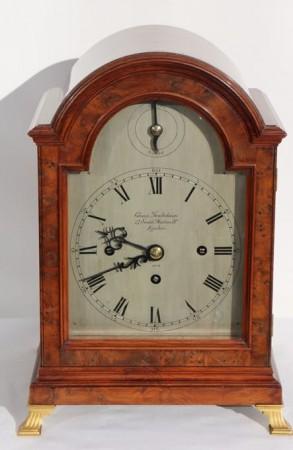 CHARLES FRODSHAM TRIPLE FUSEE CHRONOMETER WESTMINSTER BRACKET CLOCK