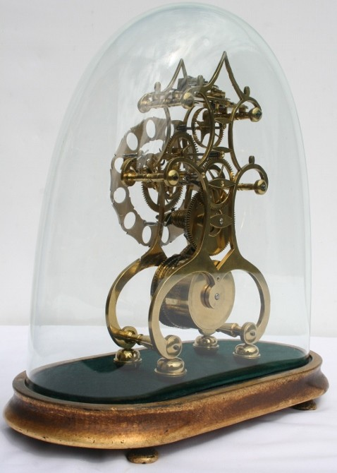 Skeleton Clock John Condiff Fusee Skeleton Clock
