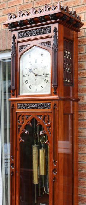 Longcase Clock Grandfather Clock Tubular Musical