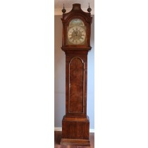 Automation Hawk Walnut Longcase clock John Draper Maldon 1730