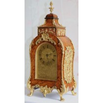 Viner Lever Platfrom Double Fusee Boulle Table Clock