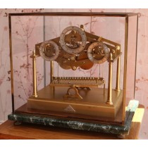 Dent Fusee Congreve Rolling Ball Clock watch video