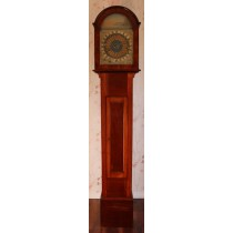 Vulliamy Regulator One month duration tidal  longcase clock 1800s