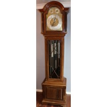 REID & SONS NEWCASLTE ELLIOTT MUSICAL TUBULAR LONGCASE CLOCK