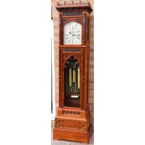 MAPLE & Co J.J ELLIOTT MUSICAL TUBULAR REGULATOR MURCURY LONGCASE CLOCK