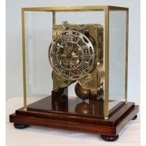 Evans of Handsworth Double Fusee Skeleton Clock