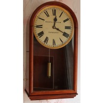 Mahogany regulator deadbeat wall clock 1840 Vulliamy
