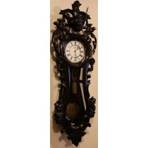 Lenzkirch Serpentine Vienna Wall Clock 1880