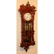 Triple weight  Vienna Wall Clock
